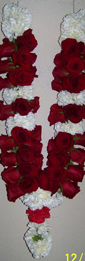 Carnation & Roses  (for Wedding)